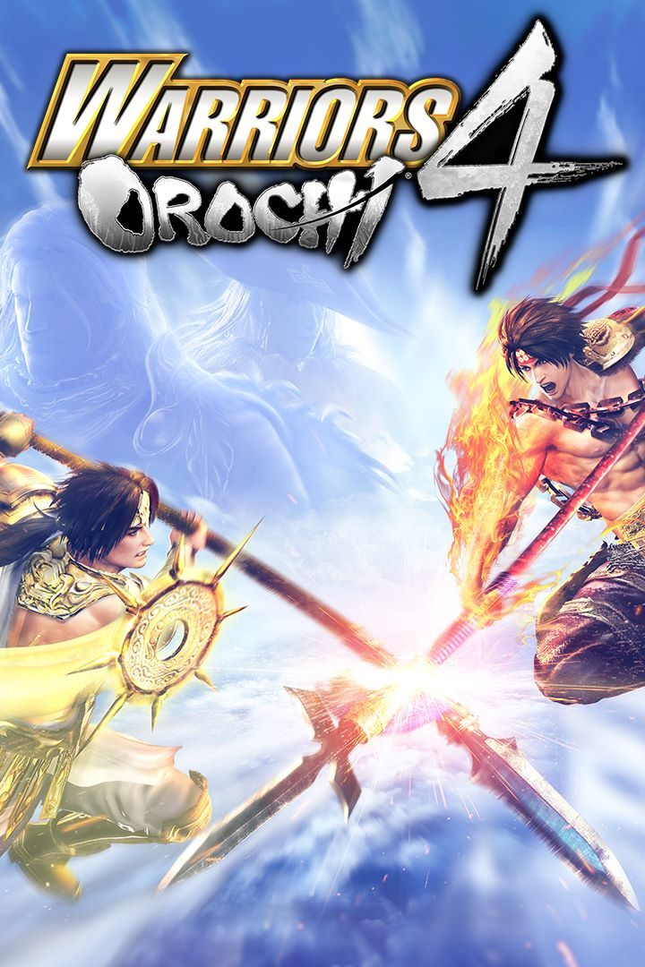 Warriors Orochi 4 Front Cover